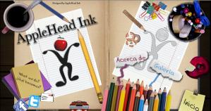 AppleHeadInk Website