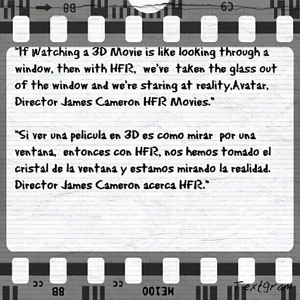 Quote : HFR Movies