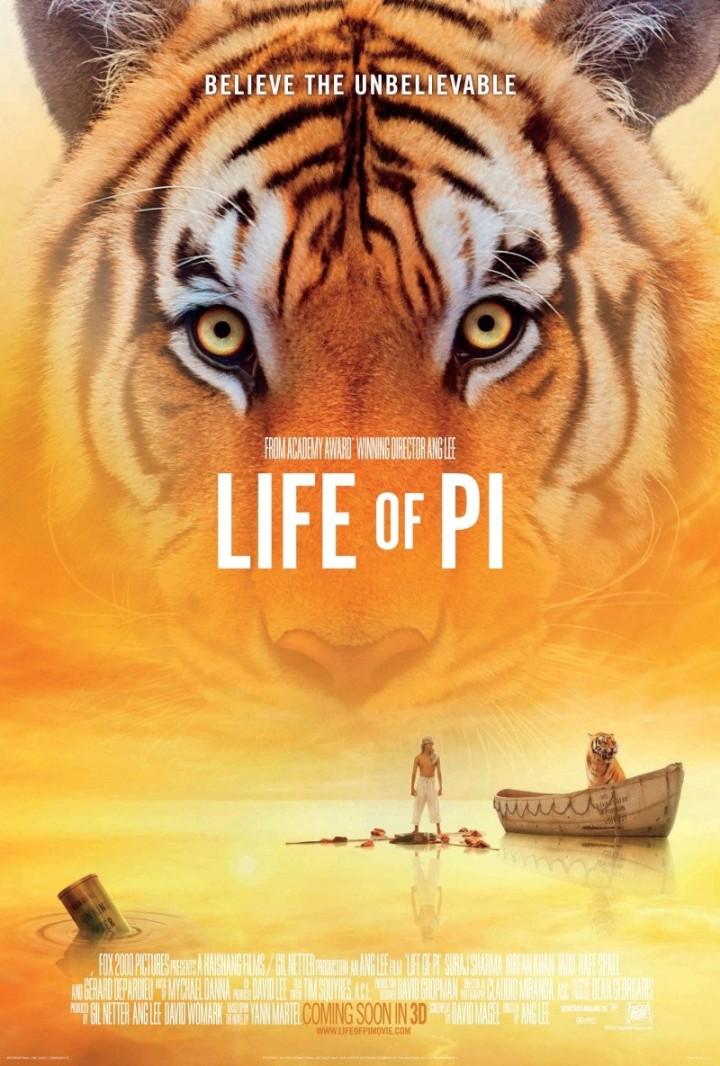 Life of Pi / Una aventura extraordinaria