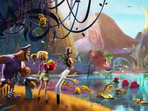 Cloudy With a Chance of Meatballs 2  : Sony Pictures Animation.