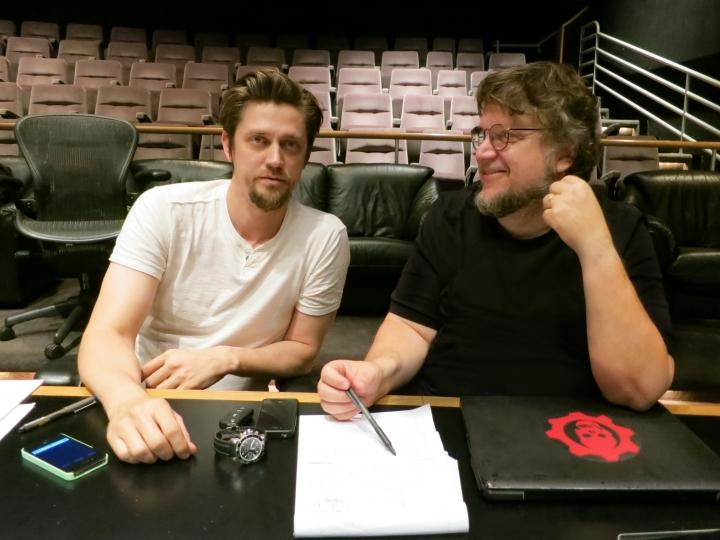 Guillermo del Toro & Andres Mushietti Photo : Universal Pictures