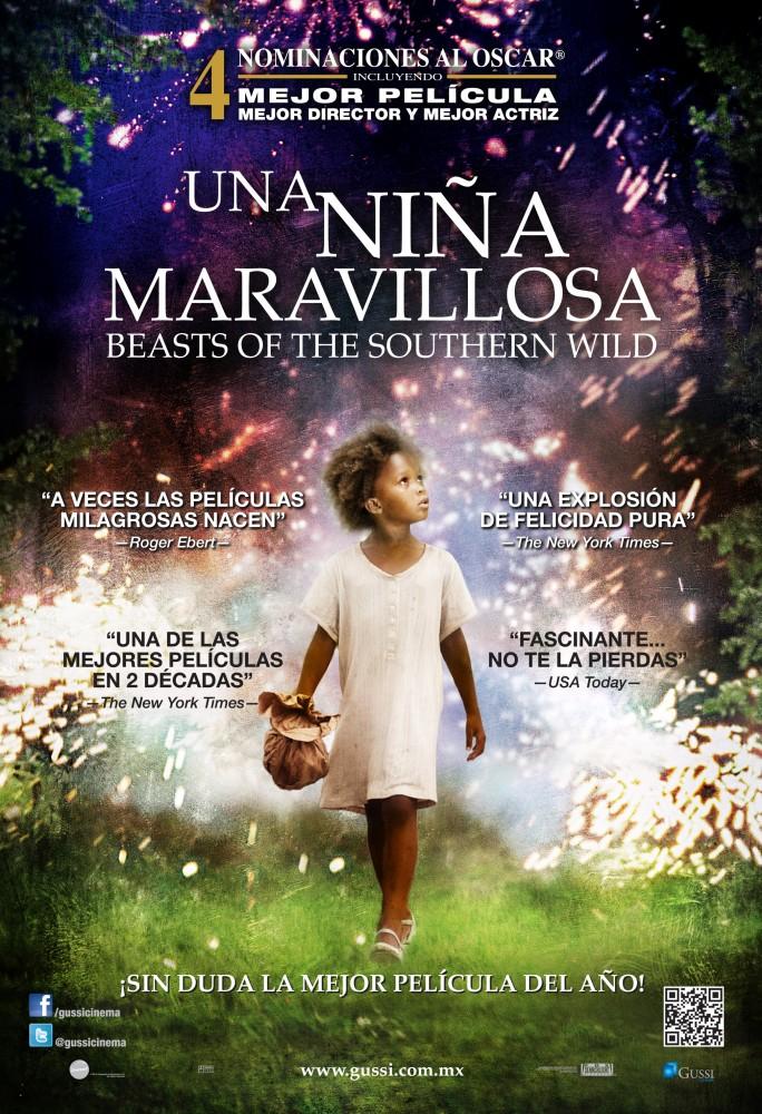 Una Niña Maravillosa / Beasts of the southern wild. Arte Cinema