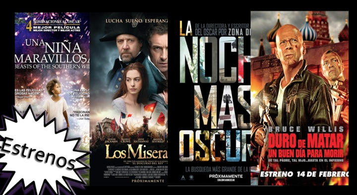 Review : Beasts Of The Southern Wild , A Good Day To Die Hard , Zero Dark Thirty , Les Miserables , The Master