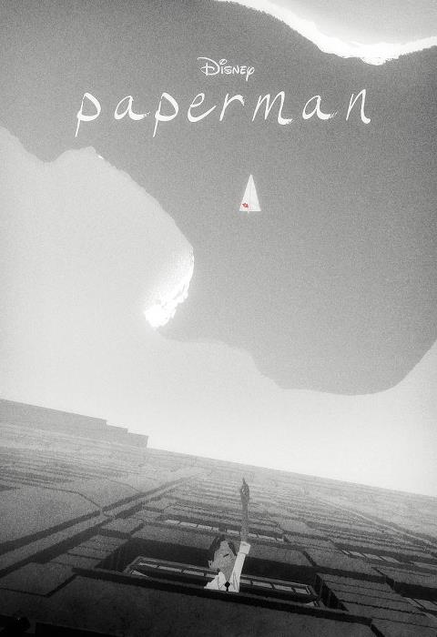 Paperman Poster  Disney  Anmation Studios