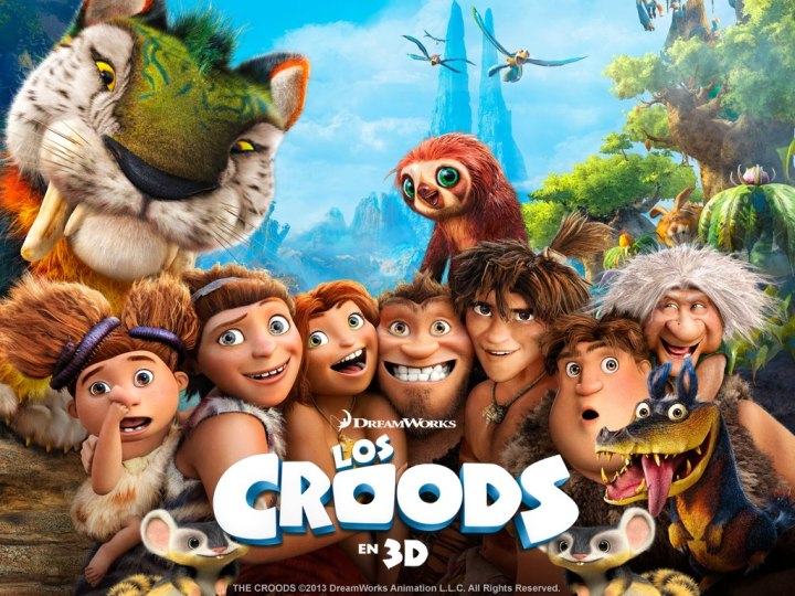 The Croods / Los Croods : Dreamworks Animation - 20th Century Fox