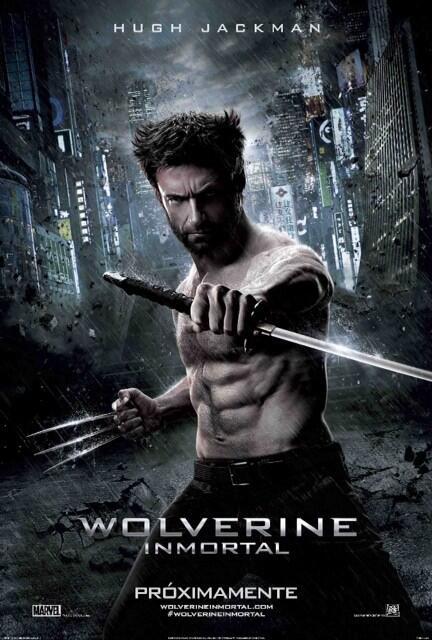 Wolverine Inmortal  / The Wolverine  20th Century Fox Mexico