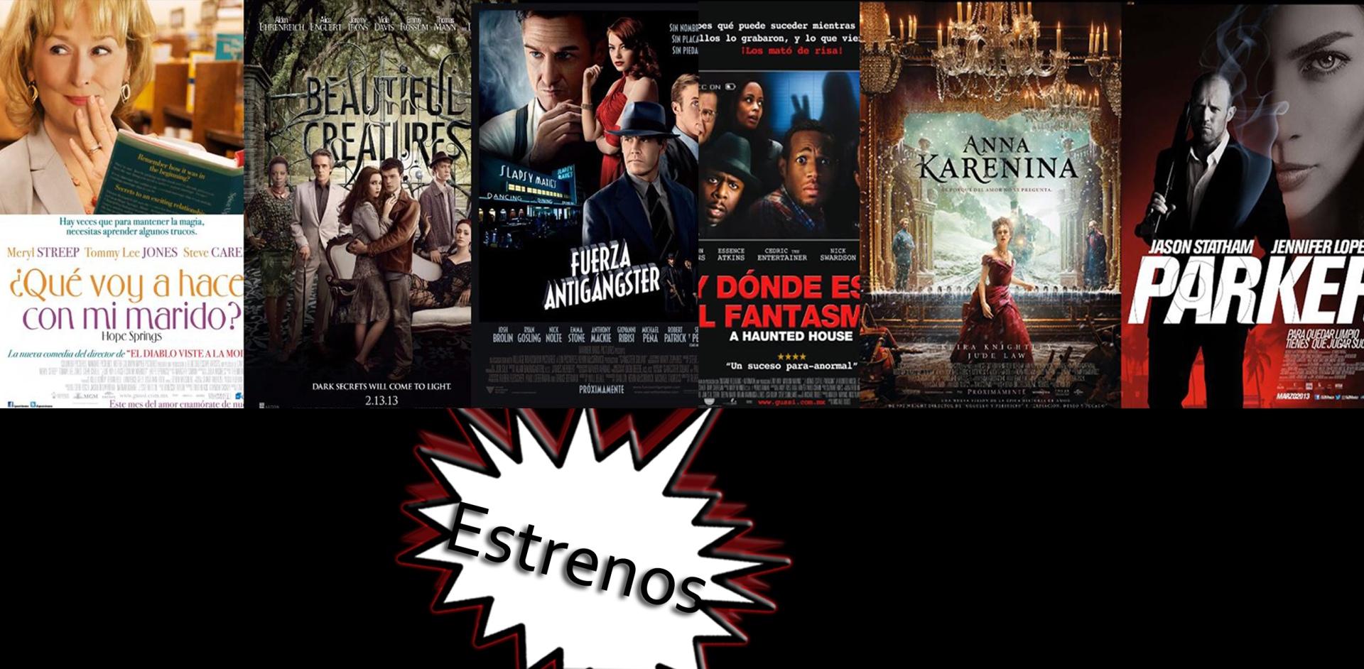 Poster de los estrenos semana 3 y 4