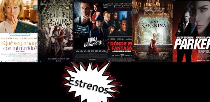 Review : Que Voy a hacer con mi marido , Hermosas Criaturas , Fuerza Antigangster , Y Donde está el Fantasma , Anna Karenina, Parker