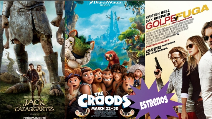 Review : Jack The Giant Slayer , The Croods  , Hit & Run