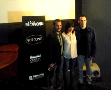 "Conferencia de prensa en ""La Casa Del Cine "" Matt Dillon. Foto :AppleHead Ink"