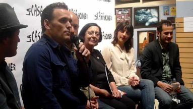 """CConferencia de prensa en """"La Casa Del Cine """" Matt Dillon. Foto :AppleHead Ink"""