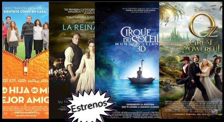 Review : La Hija de Mi Mejor Amigo , La Reina Infiel , Cirque Du Soleil Mundos Lejanos , Oz El Poderoso