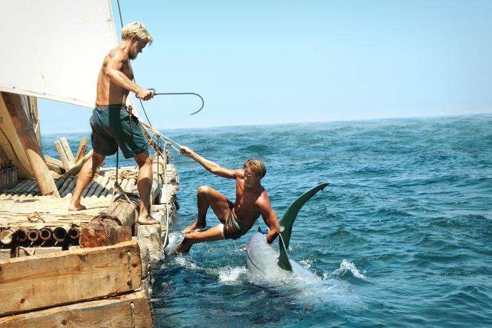 Torstein & Knut Fishing big Un Viaje Fantastico / Kon-Tiki