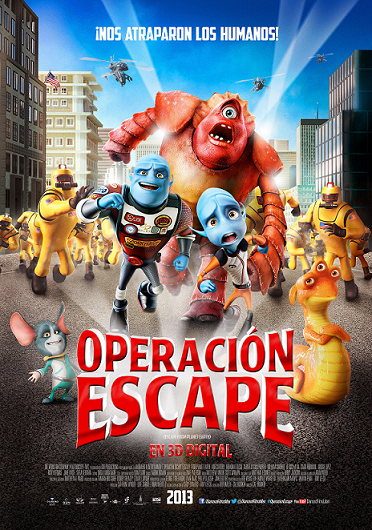 OPERACIÓN ESCAPE  Diamond Films Mex .