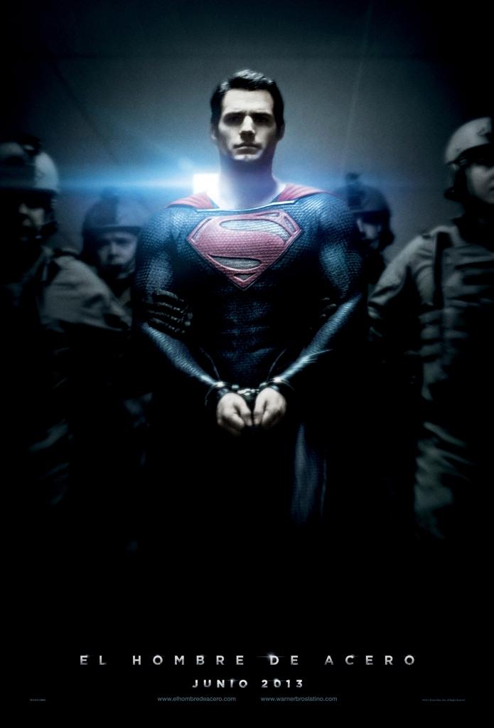 El Hombre de Acero  /  Steel Man   Warner Bros Pictures.