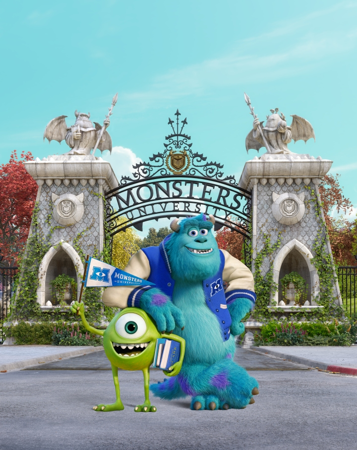 """""""MONSTERS UNIVERSITY"""" (L-R) SULLEY and MIKE. ©2013 Disney•Pixar. All Rights Reserved."""