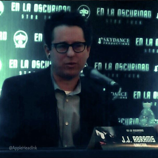 J.J Abrams Conferencia de Prensa Star Trek en la Oscuridad , Star Trek Into Darkness Mexico