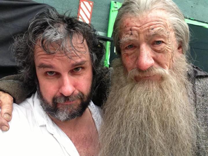 """Peter Jackson & Ian Mckellen """"Gandalf"""""""
