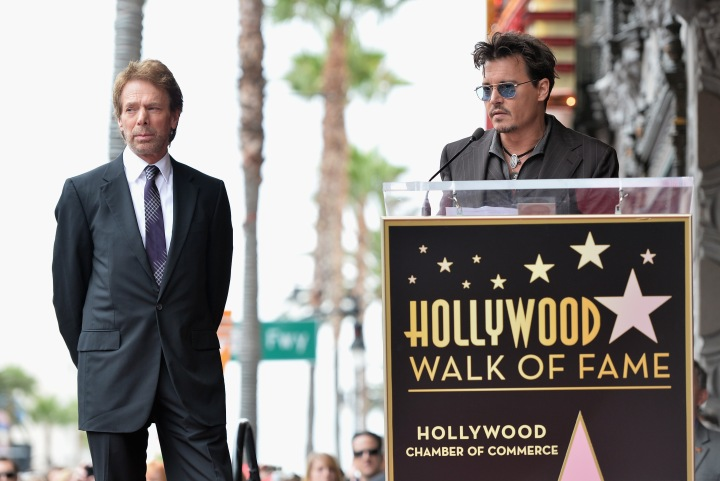 attends Legendary Producer Jerry Bruckheimer Hollywood Walk of Fame Star Ceremony on the Hollywood Walk of Fame on June 24, 2012 in Hollywood, California.