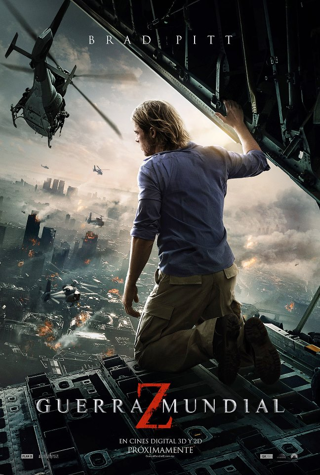 "World War Z "" / Guerra Mundial Z .  Paramount Pictures,"