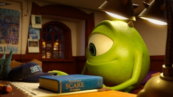 """""""MONSTERS UNIVERSITY"""" (Pictured) MIKE. ©2013 Disney•Pixar. All Rights Reserved."""