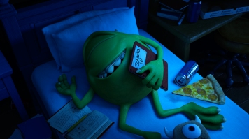 """""""MONSTERS UNIVERSITY"""" (Pictured) MIKE. ©2012 Disney/Pixar. All Rights Reserved"""