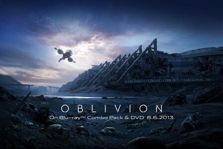 #Oblivion' Artwork For #ComicCon