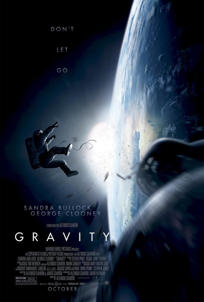 Gravity Poster : Warner Bros Pictures