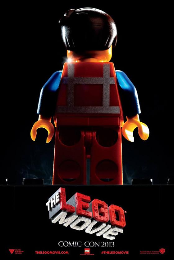 lego movie comic-con poster