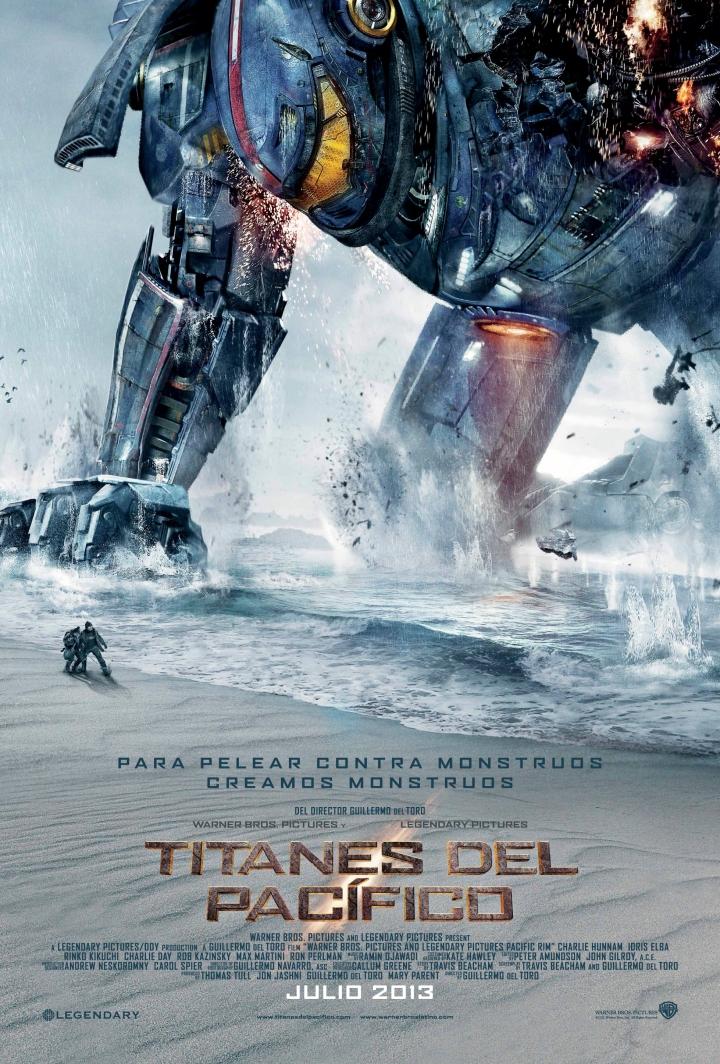 Titanes del Pacifico  Warner Bros Pictures.