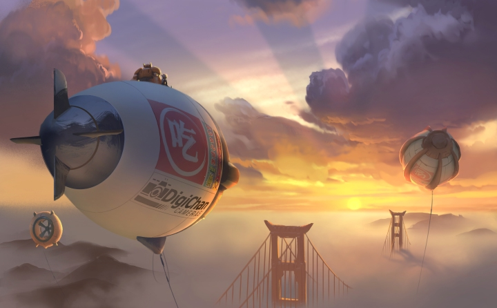 BIG HERO 6 Robotics prodigy Hiro teams up with robot Baymax to save San Fransokyo in Walt Disney Animation Studios'