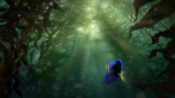 "Dory returns to the big screen in Disney•Pixar's ""Finding Dory""—in theaters Nov. 25, 2015."