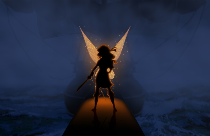 "Disneytoon Studios introduces Disney Fairies fans to dust-keeper fairy Zarina in ""The Pirate Fairy,"" slated for release in Spring 2014."