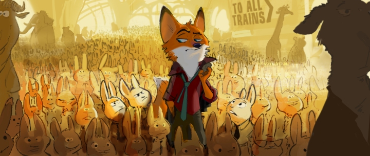 "A fast-talking fox is framed for a crime he didn't commit in Walt Disney Animation Studios' ""Zootopia"" (working title)"