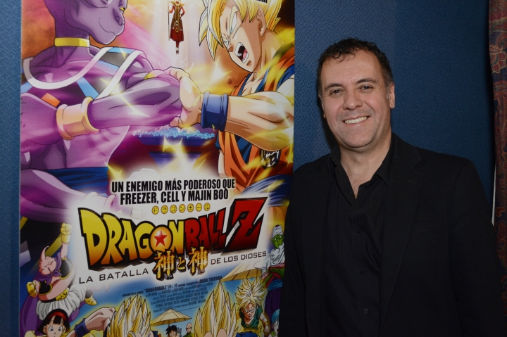 René García- Dragon Ball Z La Batalla de los Dioses-Diamond Films