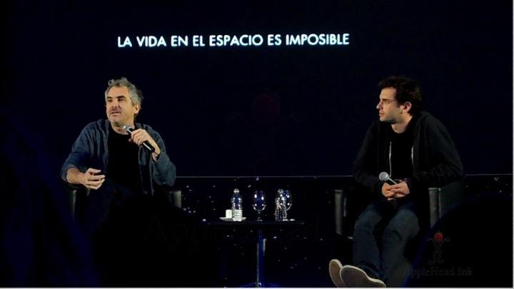 Conferencia de Prensa Gravedad  / Gravity Press Conference. Photo By AppleHead Ink The Blog