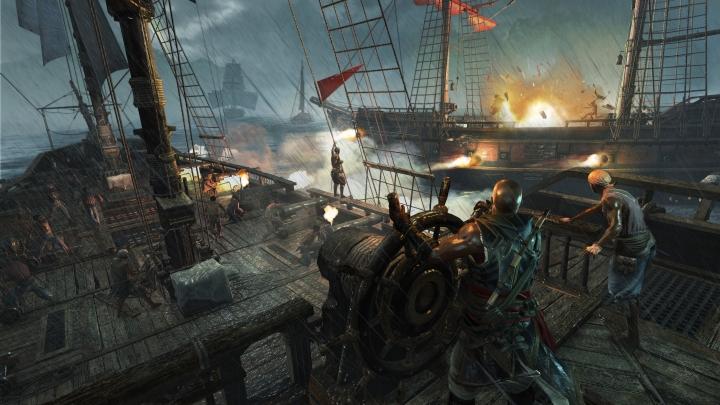 Assassins Creed IV Black Flag Freedom Cry - Boat Fight-Ubisoft