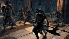 Battle With StatueKnights DarkSouls II- Namco Bandai Games