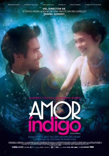 Cartel Oficial AMOR INDIGO