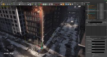 Snowdrop Screen Editor Building Imagen : Ubisoft México