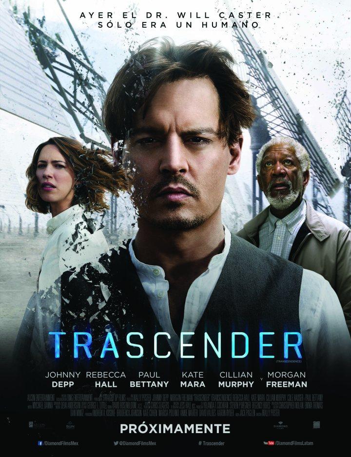 Trascender / Trascendence  Diamond Films Mexico