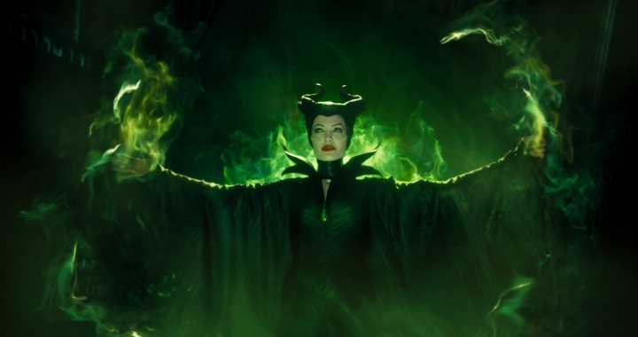 Disney's MALEFICENT Maleficent (Angelina Jolie)  Photo Credit: Film Frame ©Disney 2014