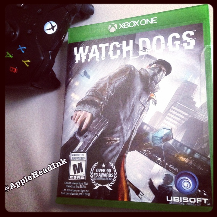 AppleHead Ink - Watch Dogs Ubisoft
