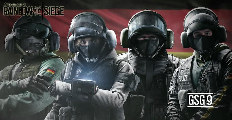 Rainbow #4 - La Unidad GSG-9