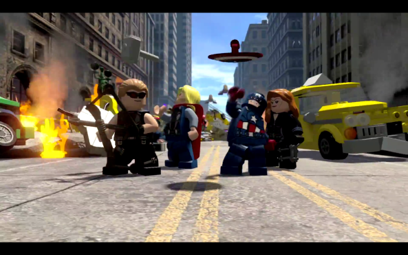 Lego Marvel's Avengers Screencapture