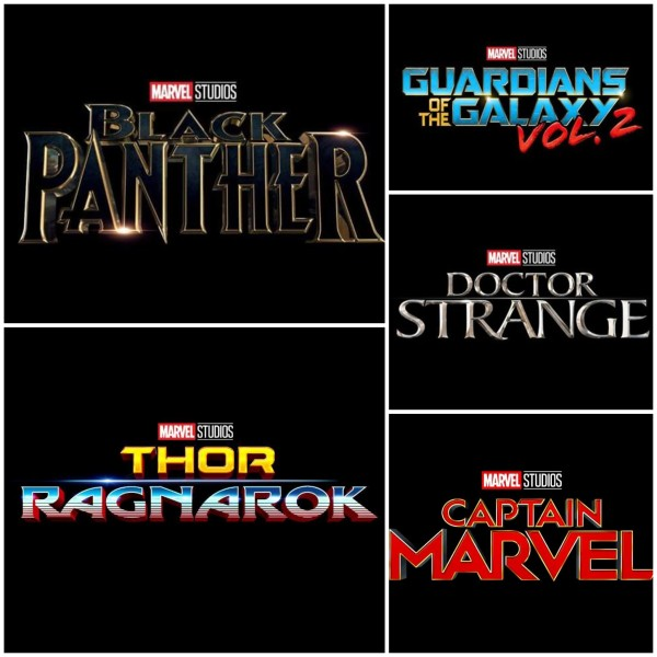 Marvel Logos Films
